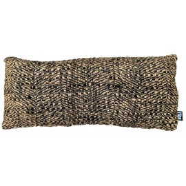 Cushion Hampi Black/Ivory/Brown