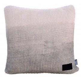 Cushion Popcorn fade Grey 45x45cm