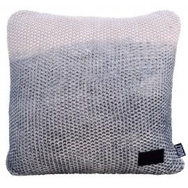 Cushion Popcorn fade midnight blue 45x45cm