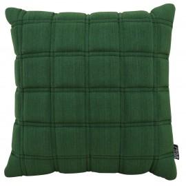 Cushion 3D blocks 45x45cm green