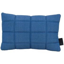 Cushion 3D bricks 40x60cm denim/white