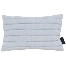 Cushion 3D 40x60cm stripes white/black