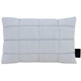 Cushion 3D bricks 40x60cm white/black