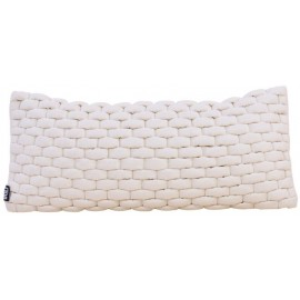 Cushion 3D Weave 30x70cm off white
