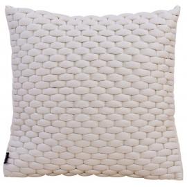 Cushion 3D Weave 60x60cm off white