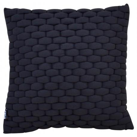Cushion 3D Weave 45x45cm Raven black