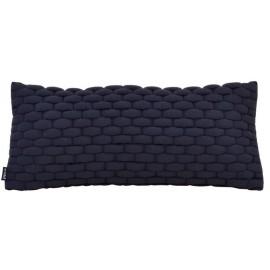 Cushion 3D Weave 30x70cm Raven black