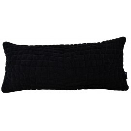 Cushion 3D Crocodile 30x70cm Velvet Black