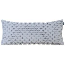 Cushion 3D Weave 30x70cm ash grey