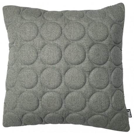Cushion 3D Circles new felt melange grey 60x60cm
