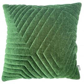 Cushion 3D Maze Pista green Velvet 60x60cm